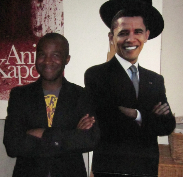 Jay with Barack Obama